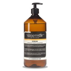 Нормализующий шампунь Togethair для жирной кожи головы и жирных волос 1000 мл