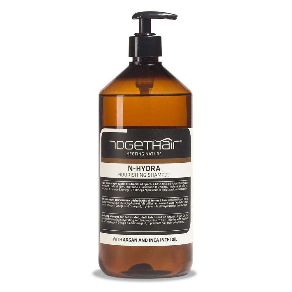 Питательный шампунь Togethair N-hydra для обезвоженных и тусклых волос 1000 мл