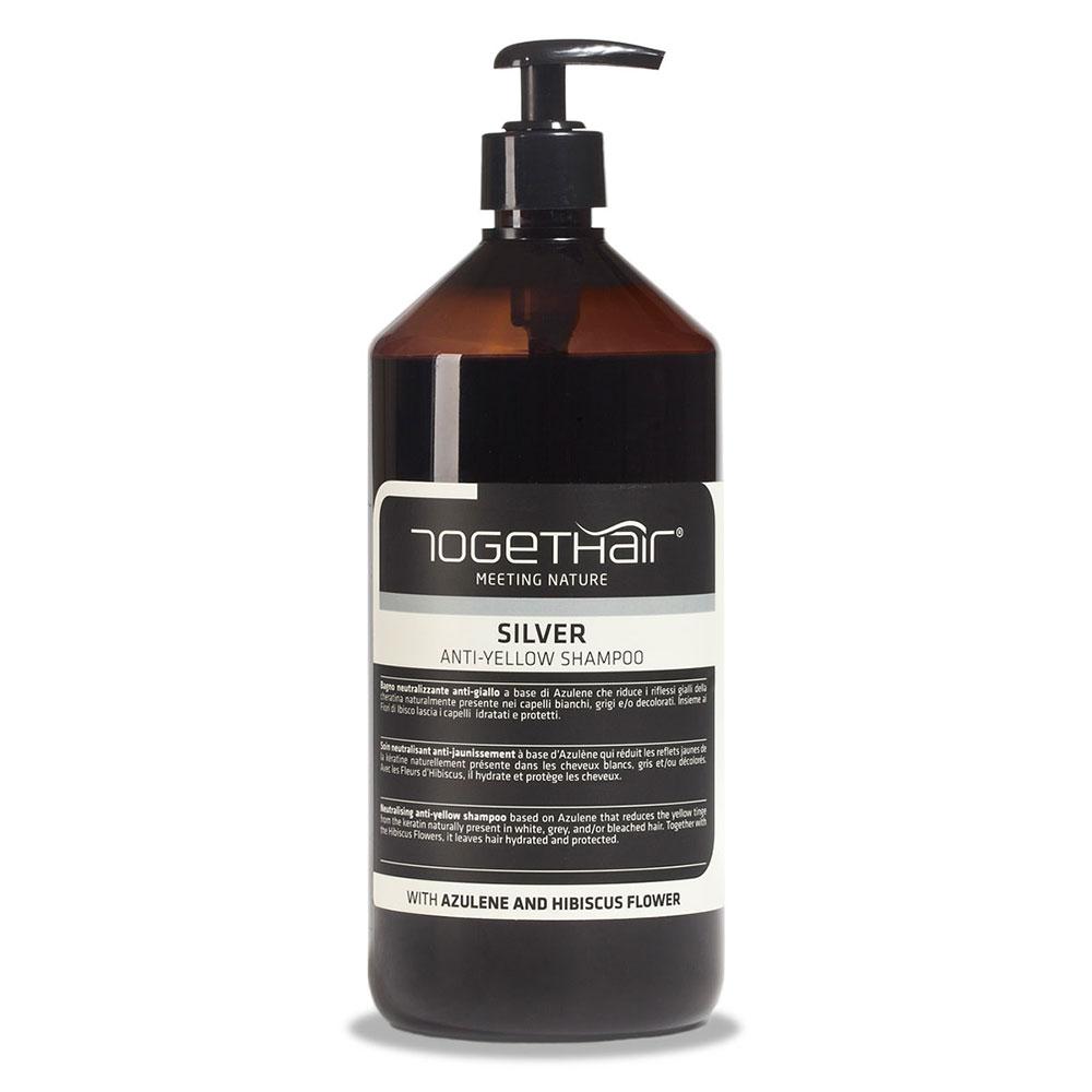 Шампунь Togethair Silver против желтизны для осветленных и седых волос 1000 мл