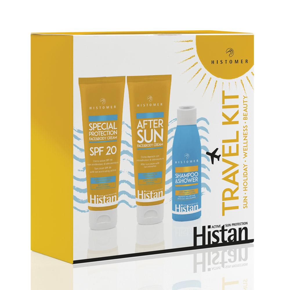 Дорожный набор для лица и тела Travel Kit Histomer Histan