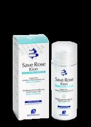 Успокаивающий крем для кожи с покраснениями и куперозом Biogena Save Rose Kion SPF10, 50 мл
